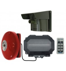 Long Range Driveway PIR Alarm with Outdoor Receiver & Loud Bell