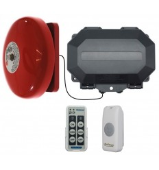 Wireless Commercial Bell Kit (with loud bell and fully adjustable duration)