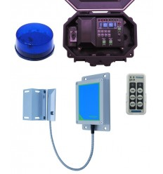 Wireless Magnetic Gate Alert with Flashing Strobe Light