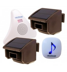 2 x PIR 2 x Receiver DA600 Wireless Garden & Driveway Alert