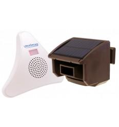 DA600-T Wireless Garden & Driveway Alert (Brown PIR).