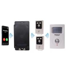 Battery GSM UltraDIAL Alarm with 1 x BT PIR