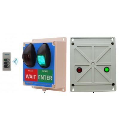 Wireless Customer Flow Light Controller