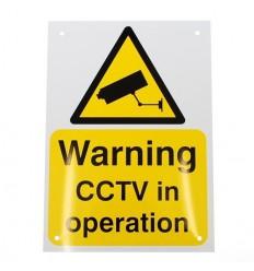 A4 External CCTV Warning Sign