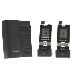 UltraCom 600 metre Wireless Intercom & 2 x Handsets (no keypad)