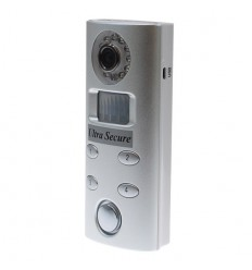 Keypad Operated Alarm with Hidden CCTV (silver)