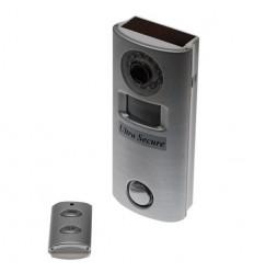 Remote Control Battery Alarm & Hidden CCTV (silver)