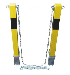 100P Removable Posts & Chain Kit