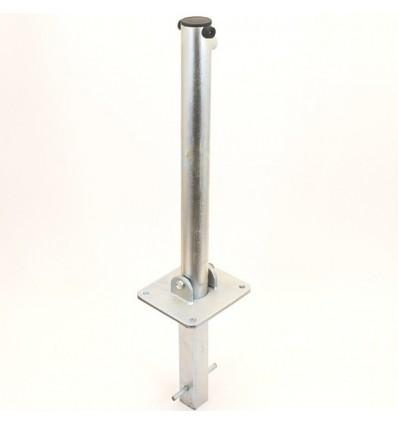 610G Fold Down Parking Post (spigot base version).