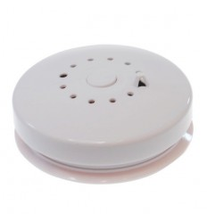 Wired or Wireless Smoke & Heat Detector