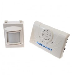 Wireless Driveway Alert with Internal & Sheltered External PIR