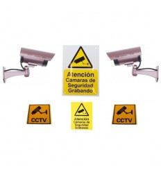 DC2 Dummy Camera & Sign Package (Spanish)