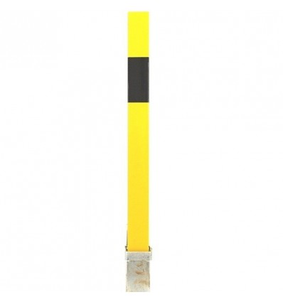 H/D Yellow 100P Removable Parking & Security Post