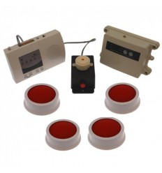 Long Range (1200 metre) Wireless SB4 Panic Alarm Kit