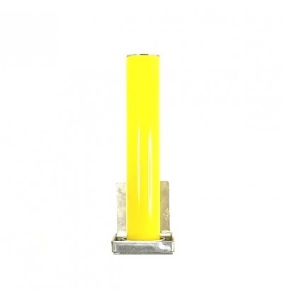 Yellow TP-200 Telescopic Security & Parking Post.
