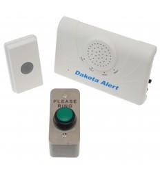 Long Range Wireless Bell & Heavy Duty Push Button.