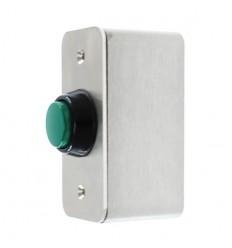 Heavy Duty External Push Button (Green)
